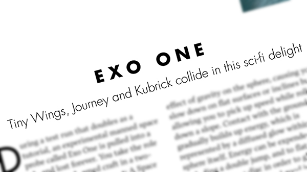 edge magazine exo one
